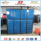Heavy Duty 28 Drawer Metal Tool Storage Cabinet with Caster