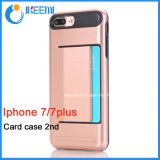 High Quality Card Slots Cell Phone Case for iPhone 7, 7plus