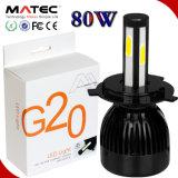 2017 Newest G20 L6 G5 G6 G20 LED Light Lamp Hi/Lo Beam LED Light Spot Light for Auto Parts Similar to Halogen