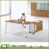 4-Leg Modern Executive Desk with Mobile Cabinet