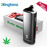 Kingtons Black Widow Dry Herb Vaporizer with Ceramic Chamber