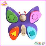 2014 Colorful Wooden Jenga Blocks, New and Popular Tumbler Set of Tower, Kids Toy Jenga Blocks W13D024