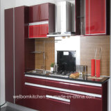 2016 [ Welbom ] Popular New Design Lacquer Kitchen Cabinet