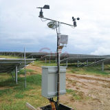 Solar PV Industry Weather Station with Pyranometer and Wind Speed Direction Sensor