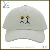 Custom Cotton Twill Flat Embroidery Logo Cheap Unstructured Baseball Hat