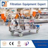 Mobile Manual Operating Membrane Filter Press Machine