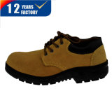 Cheap Low Cut Suede Leather Work Shoes with Oxford or Rubber Outsole