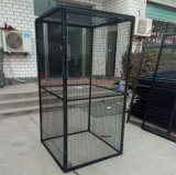 Metal Welded Mesh Bird Cage, Parrot Cage,