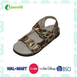 Children′s Sandals with Rubber Sole and PU Straps