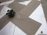 Grey Wooden Vein Stone Marble Floor Tile for Living Room