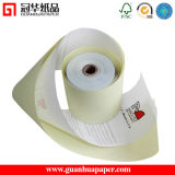 ISO 3′′ White/ Canary/Pink NCR Paper Rolls