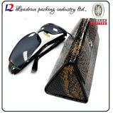 Folding Leather Eyeglasses Case (HX386)