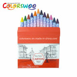 Stationery 10 Colors1.0cm Crayons for Students and Kids