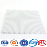 Clear Color Polycarbonate Frosted Twin Wall PC Hollow Sheet Price Used for Greenhouse