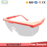 Protective Transparent Work PC Safety Eyewear Glasses (JMC-240F)