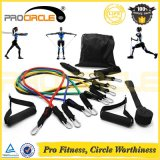 Procircle Resistance Bands 11PCS Home Gym Fitness Exercise Resistance Tube Set