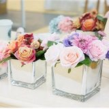 Qcy Wholesale Modern Simple Customized Creative Clear Acrylic Vase