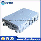 24 Fibers FTTH Indoor Outdoor Distribution Box with 3 PCS 1*8 PLC Splitter