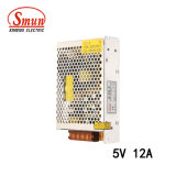 Smun S-60-5 60W 5V 12A Single Output Switching Power Supply