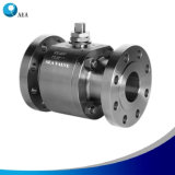 Forged Stainless Steel Soft Seated Floating Ball Valve with PTFE, Peek Seat Insert