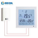 White Color Room Gas Boiler Thermostat for Water Heating System