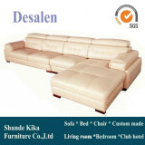Modern Style L Shape Factory Price Leather Sofa (A25)