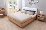 Large Wooden Slat Bed for Bedroom Furniture A1063