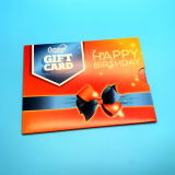 Custom PVC VIP Gift Card with paper card holder