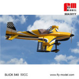 RC Model Airplane Slick540 50cc Plane Fly-Model Factory