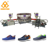 Automatic Direct Injection Machine for Making Sport Shoe Canvas Shoes and School Shoes Safety Shoes in PVC TPR TR Material