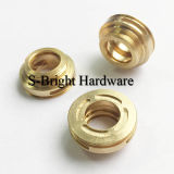 Europe Customized Precision CNC Milling Brass Electrical Inserts (F-056)