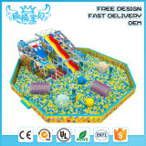 Funny Soft Playground Kids Amusement Park Food Grade Safe Material