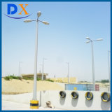 60W LED Solar Street Lights, Lighting Effect Equal to 250W High Pressure Sodium Lamp