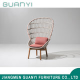 2018 Wooden Base High Back Rattan Armchair Household Outdoor Furniture