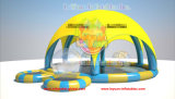 Airtight Inflatable Swimming Pool with Roof