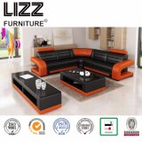 Modern Home Furniture Top Leather Sofa for Living Room