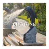 Garden Fountain Basalt Sculpture