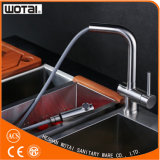 Wholesale Single Lever Pull out Kitchen Faucet Tap