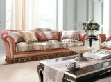 Classical Luxury Sofa with Decor Drop