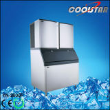 Square Cubic Type Ice Cube Maker with 2000pound/Day Making Capacity