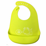 Hot Selling Baby Wear Packageable FDA Silicone Baby Bib