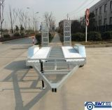 Double Axle Car Trailer Adjustable Loading Ramp (SWT-CT146)