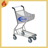 4 Wheels Stainless Steel Airport Shopping Cart Trolley (BW3)
