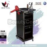 Locking Door Black Salon Carts Trolley for Hairdressing