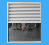 Australia Style Air Ventilation Security Aluminium Louvre with Fixed Window