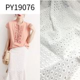 Py19076 Imitated Silk Like Embroidery Polyester Fabric for Dress