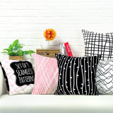 Printed Multi-Color 45*45cm Square Cotton&Linen Chair or Sofa Cushion/Pillow