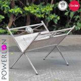 OEM Grey Foldable Magazine Rack (PL08-7316)
