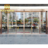 Interior Gold Color Mirror Finish Stainless Steel Glass Entry Door