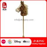 Custom Kids Hobby Soft Plush Horse Stick Toy